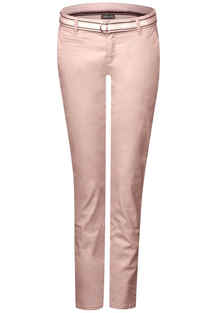 Casual Chino Jacky - pale rose - Street One - GOOFASH