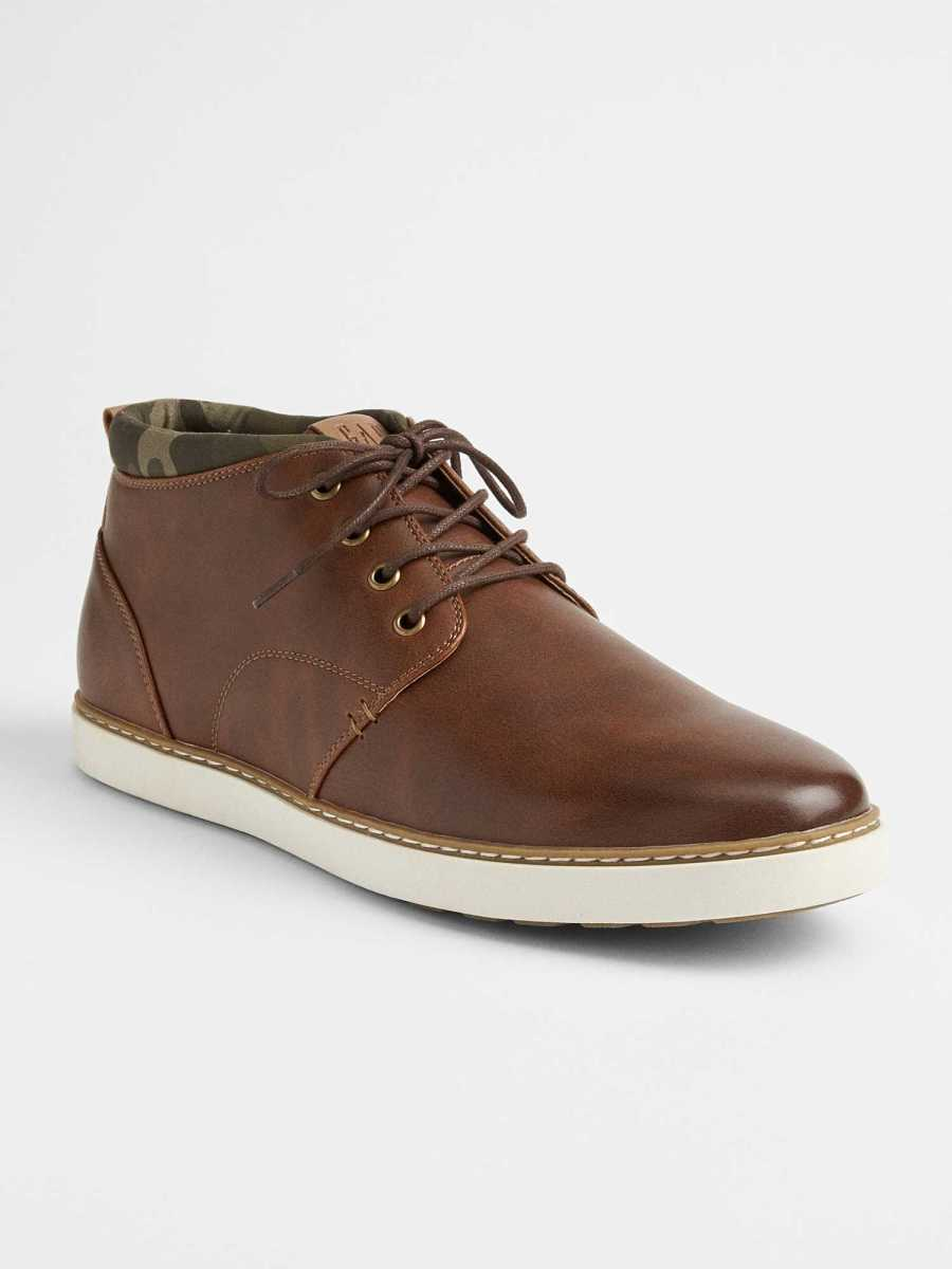 Casual Lace-Up Boots Brown - Gap - GOOFASH