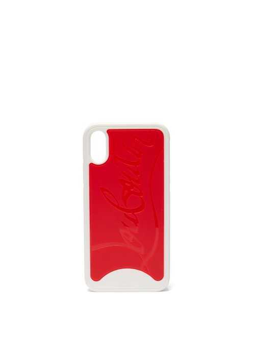 Christian Louboutin - Loubiphone Iphone® X Case - Red Red - Matches Fashion - GOOFASH