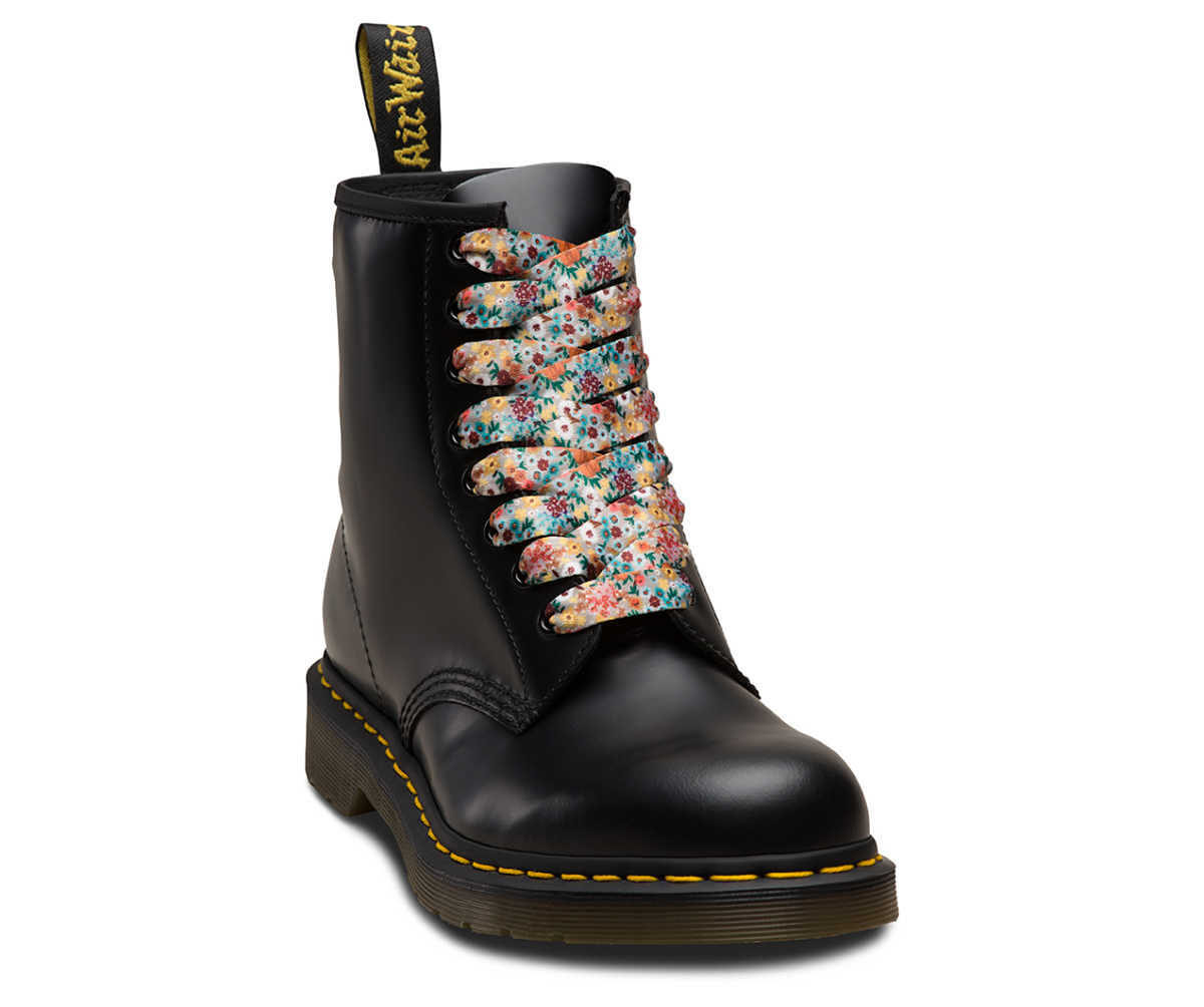 Dr Martens - Laces with floral pattern (8-10 holes) - GOOFASH