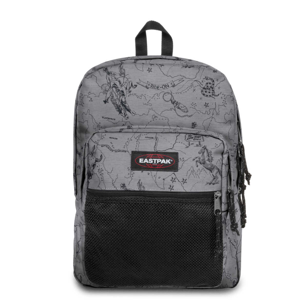 edf145794ed Eastpak Pinnacle West Grey, Polyester | GOOFASH SHOP
