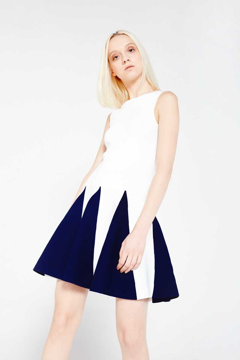 English Factory Flared Knit Dress - Own The Look - GOOFASH