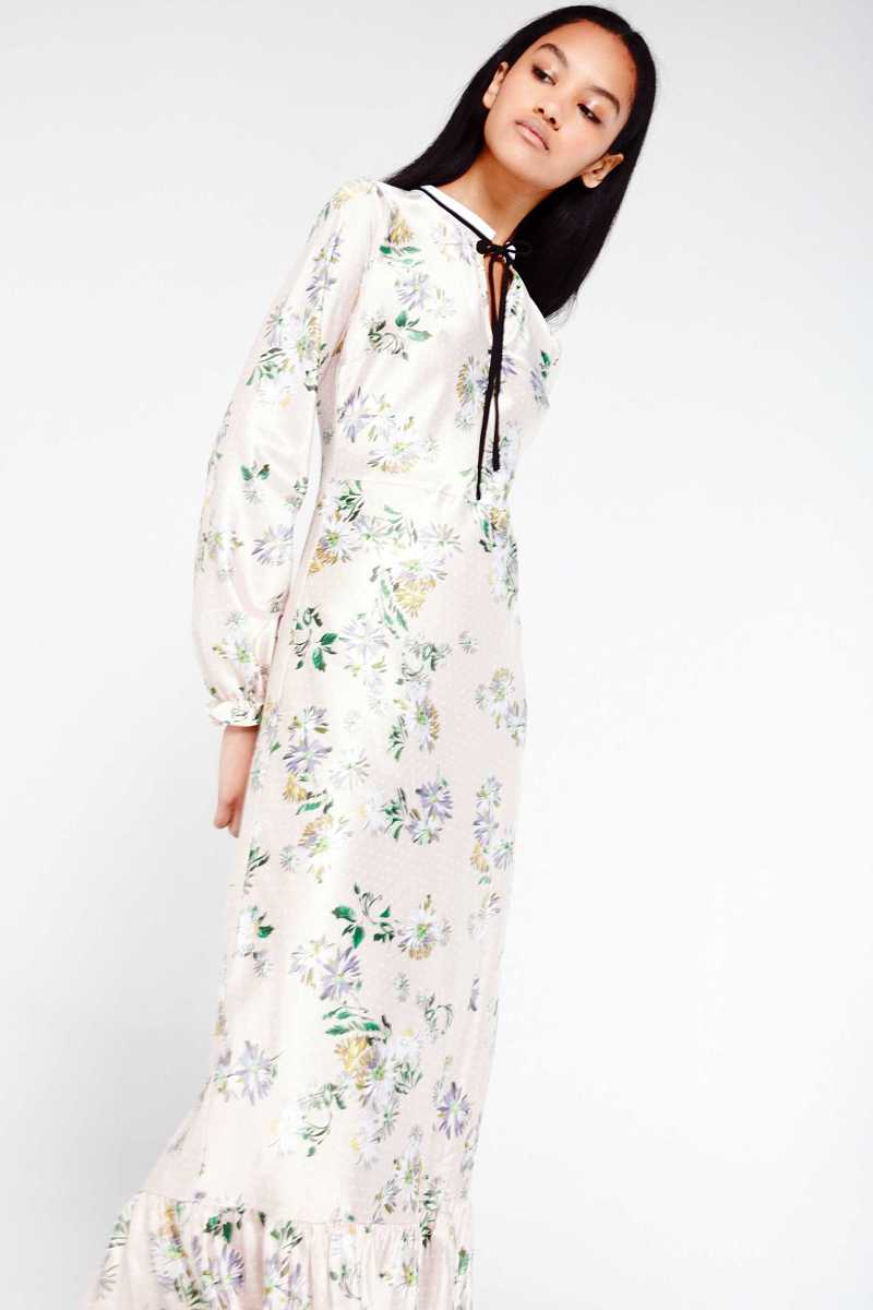 English Factory Printed Maxi Dress - Own The Look - GOOFASH