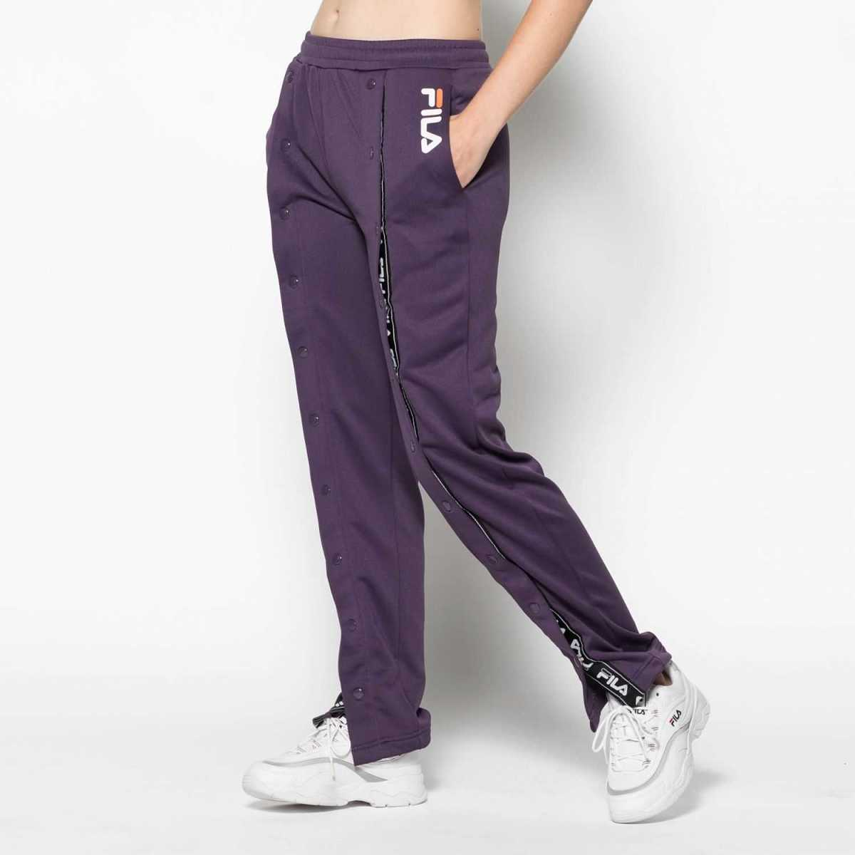 FILA Alice Snap Front Jogger in Blue for Women - GOOFASH