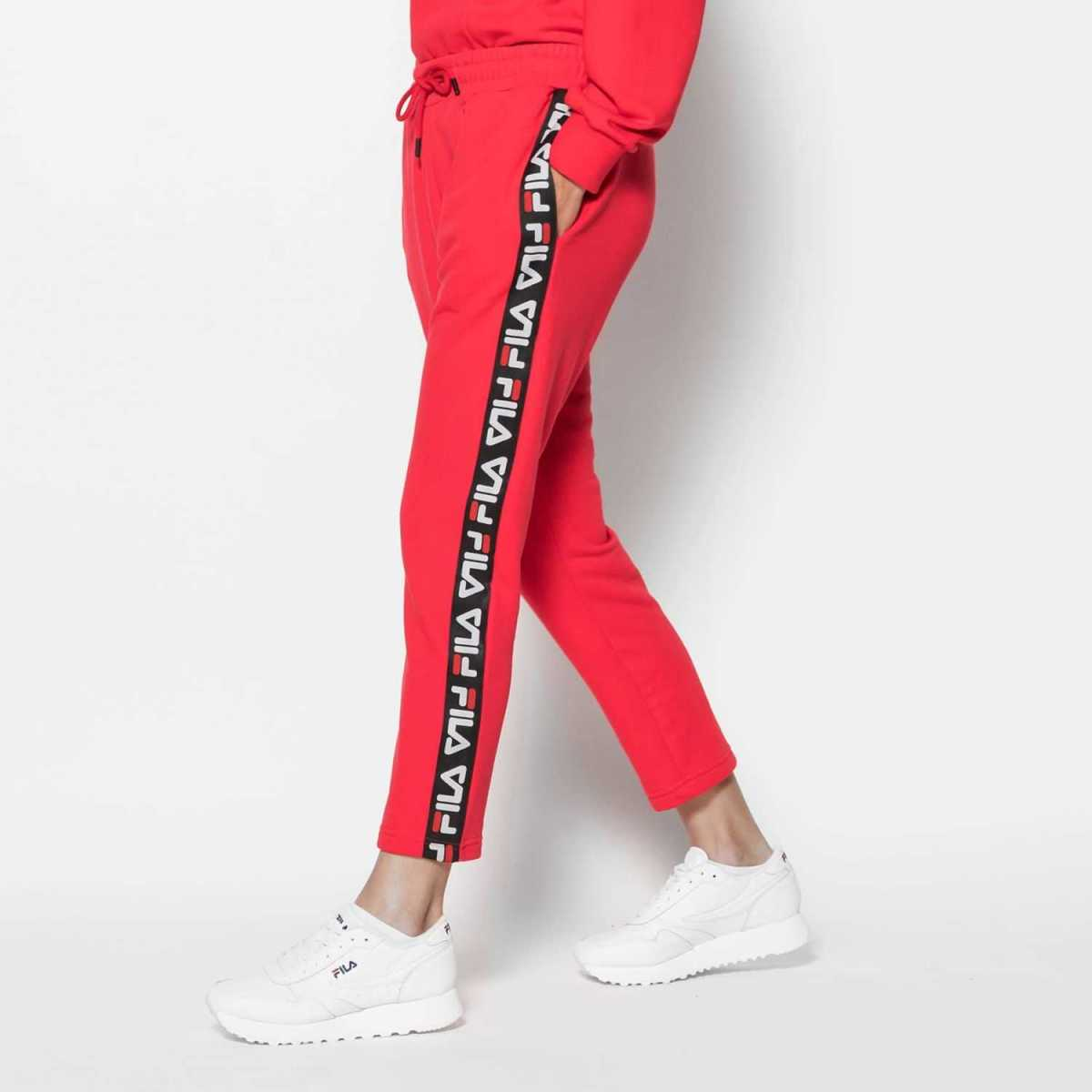 FILA Camille Pants in Red for Women - GOOFASH