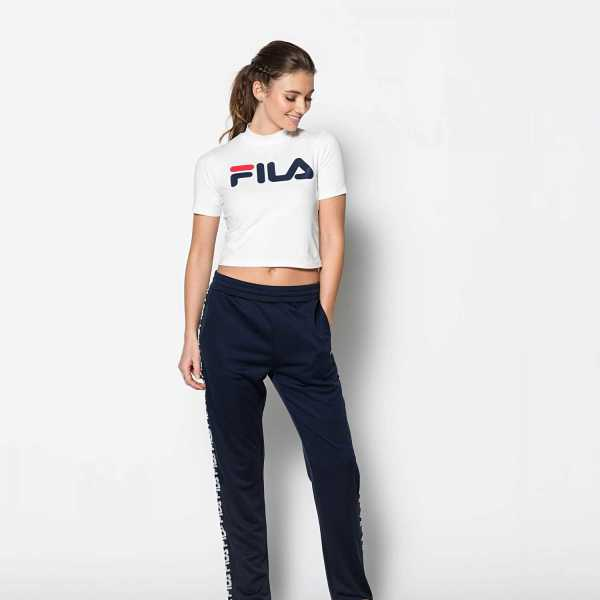 FILA Every Turtle Tee in White for Women - GOOFASH