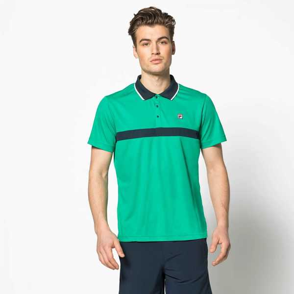 FILA Polo Philo in Green for Men - GOOFASH
