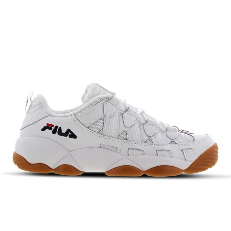 Fila Spaghetti Low Shoes White - Foot Locker - GOOFASH
