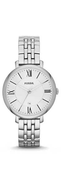 Fossil Jacqueline Watches Silver GOOFASH 237866