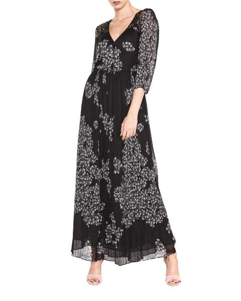 Guess Carole Dress Black GOOFASH 263568