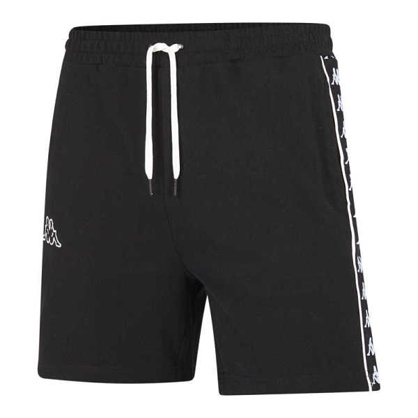 Kappa Banda Pique Shorts Black - Foot Locker - GOOFASH