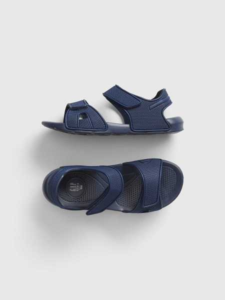 Kids Strappy Water Sandals Elysian Blue - Gap - GOOFASH