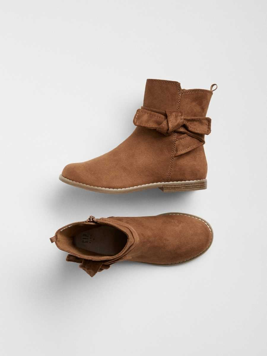 Knot-Tie Ankle Boots Summer Spice - Gap - GOOFASH