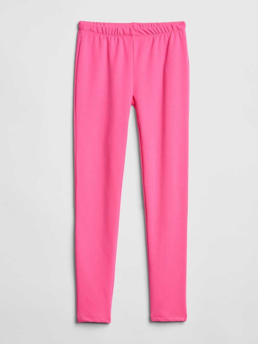 Leggings in Soft Terry Knockout Pink - Gap - GOOFASH