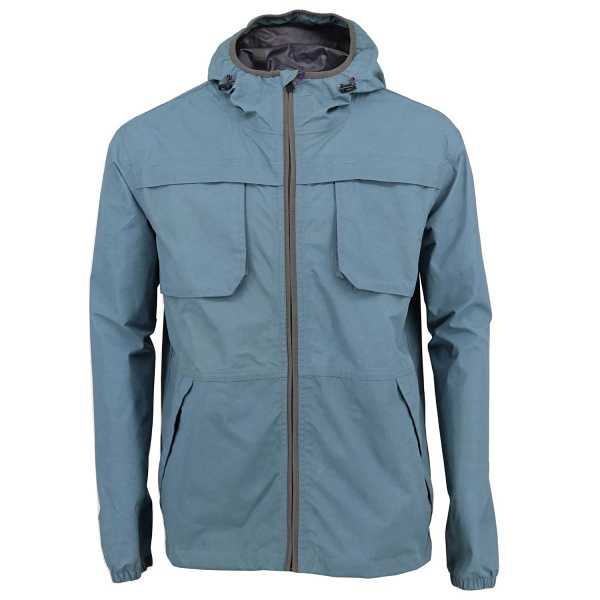 Lords of Harlech - Climb Jacket In Teal - Wolf And Badger - GOOFASH