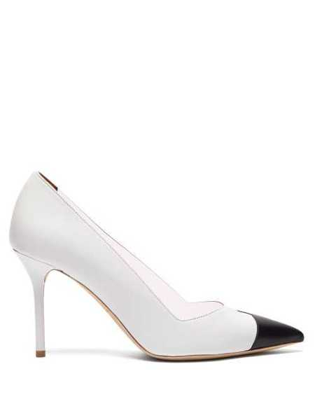 Malone Souliers - Bly Perspex And Leather Pumps - White White - Matches Fashion - GOOFASH