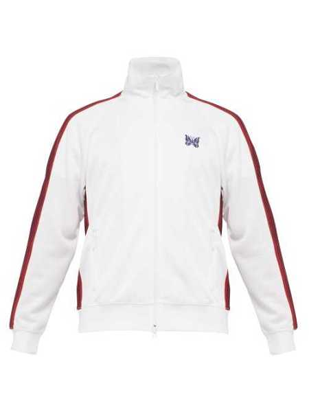 Needles - Butterfly Embroidered Track Jacket - White White - Matches Fashion - GOOFASH
