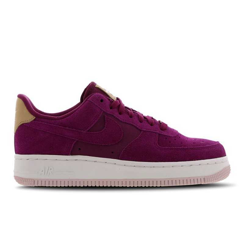 Nike Air Force 1 Shoes Red Foot Locker Goofash