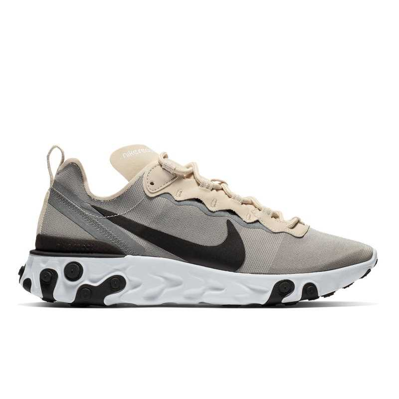 Nike REACT ELEMENT 55 in Beige - Runners Point- GOOFASH