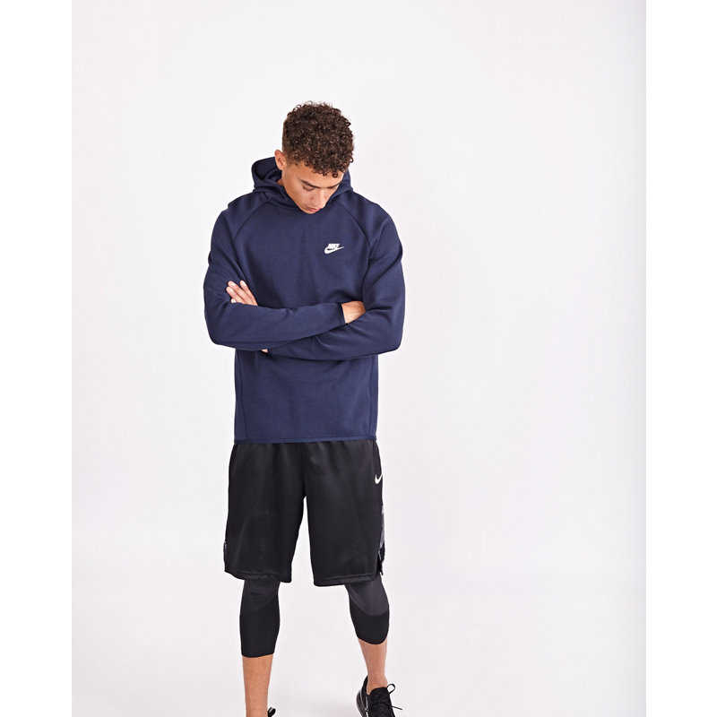 Nike Tech Essentials Pull Over Hoodies Blue - Foot Locker - GOOFASH
