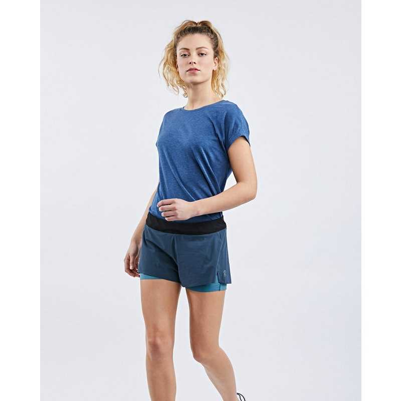 ON RUNNING SHORTS in Blue - Runners Point- GOOFASH
