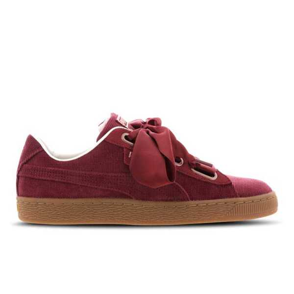 Puma BASKET HEART CORDUROY in Red - Runners Point- GOOFASH