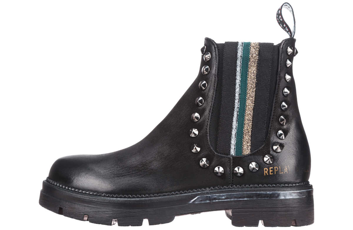 Replay Ankle boots Black GOOFASH 261198