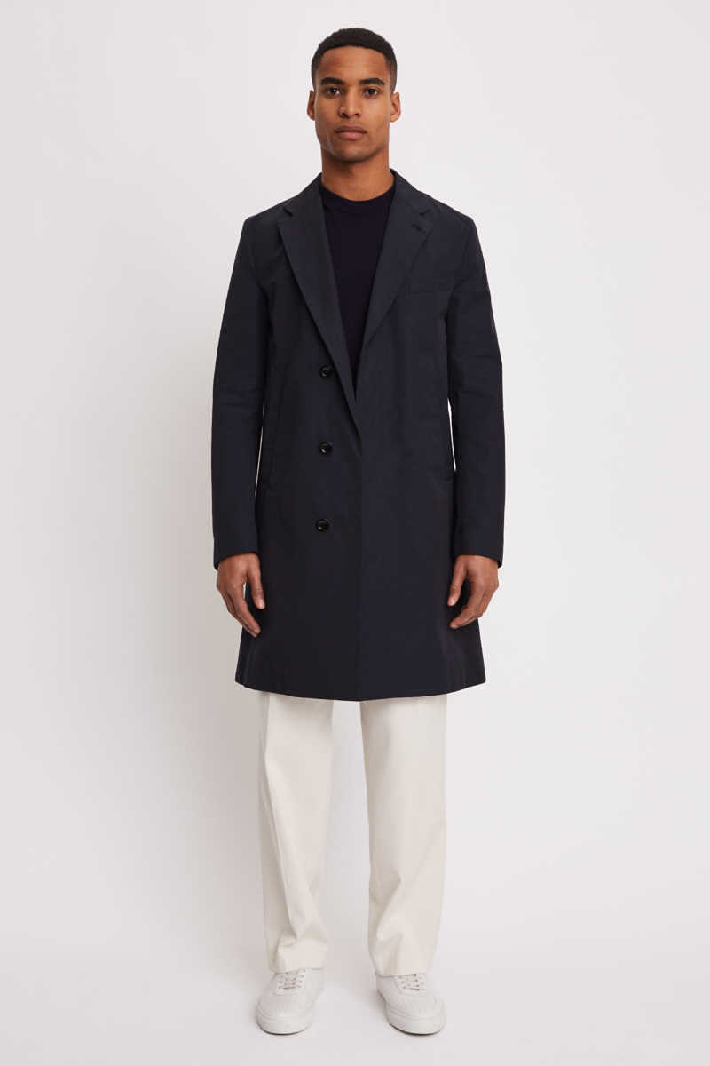 Ross Spring Coat Blue - Filiappa K - GOOFASH