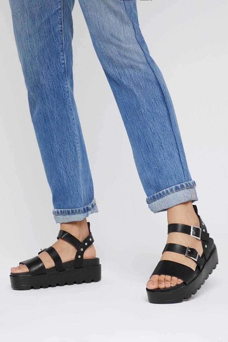 Stud Things Come Cleated Platform Sandals - Nasty Gal - GOOFASH