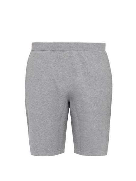 Sunspel - Mid Rise Cotton Blend Shorts - Grey Grey - Matches Fashion - GOOFASH