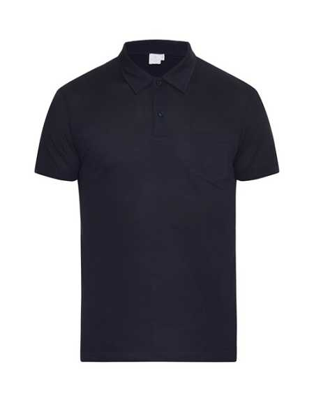 Sunspel - Riviera Cotton Piqué Polo Shirt - Blue Blue - Matches Fashion - GOOFASH
