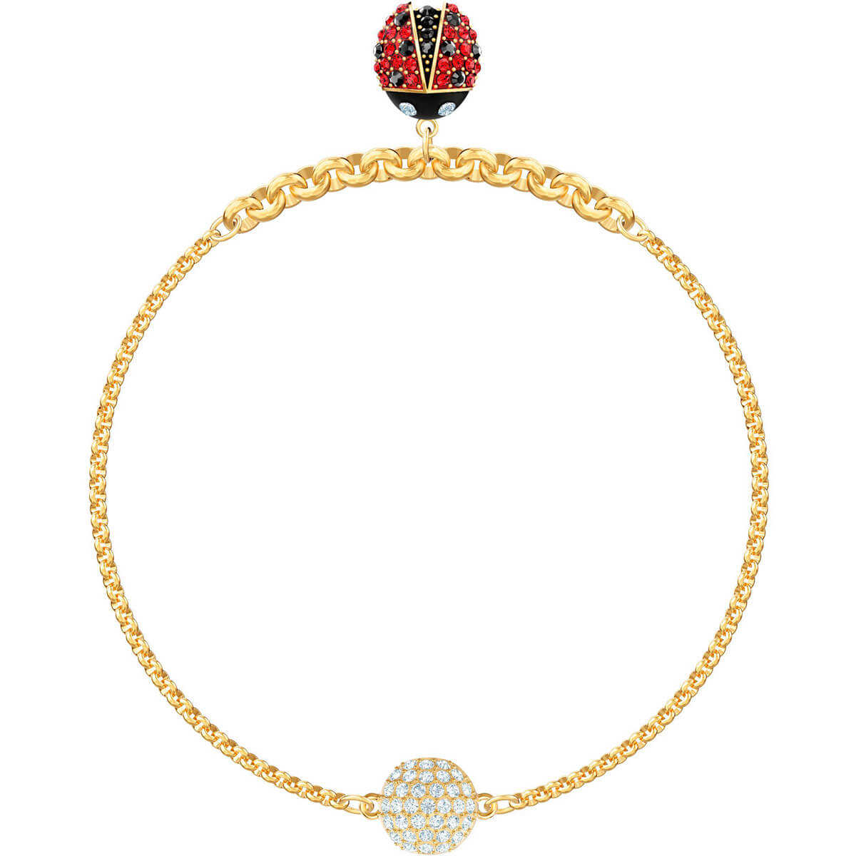 Swarovski Swarovski Remix Collection Ladybug Strand