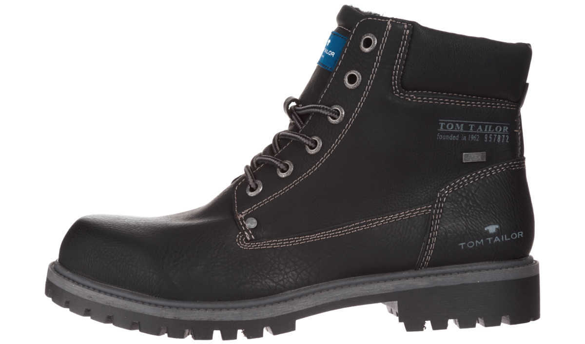 Tom Tailor Ankle boots Black GOOFASH 257140
