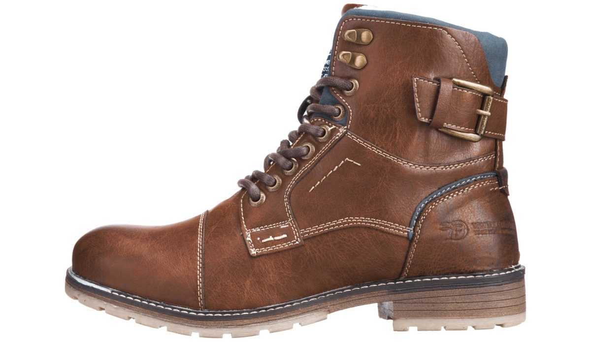 Tom Tailor Ankle boots Brown GOOFASH 263005