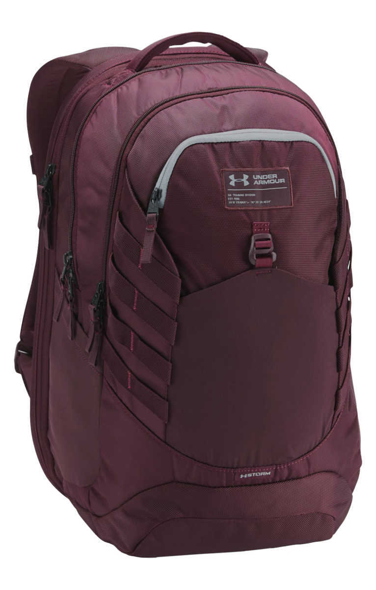 Under Armour Hudson Backpack Red GOOFASH 264596