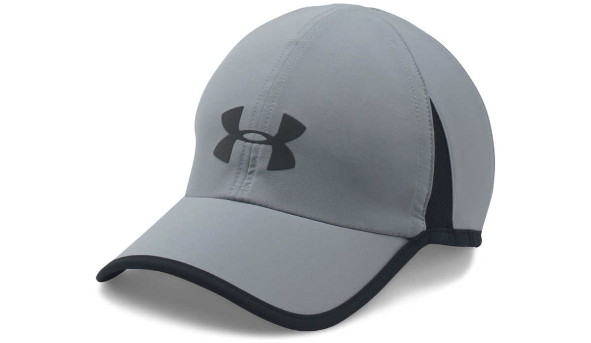 Under Armour Shadow 4.0 Run Cap Grey GOOFASH 264572