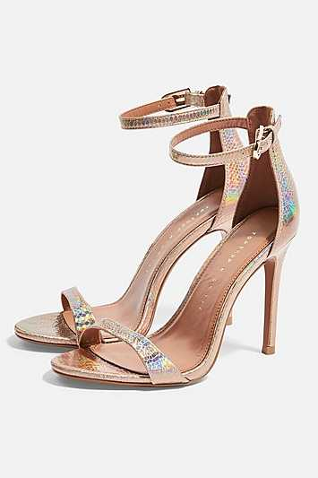 Wide Fit Susie Two Part Skinny Sandals - Multi - Topshop - GOOFASH - 602019001311103