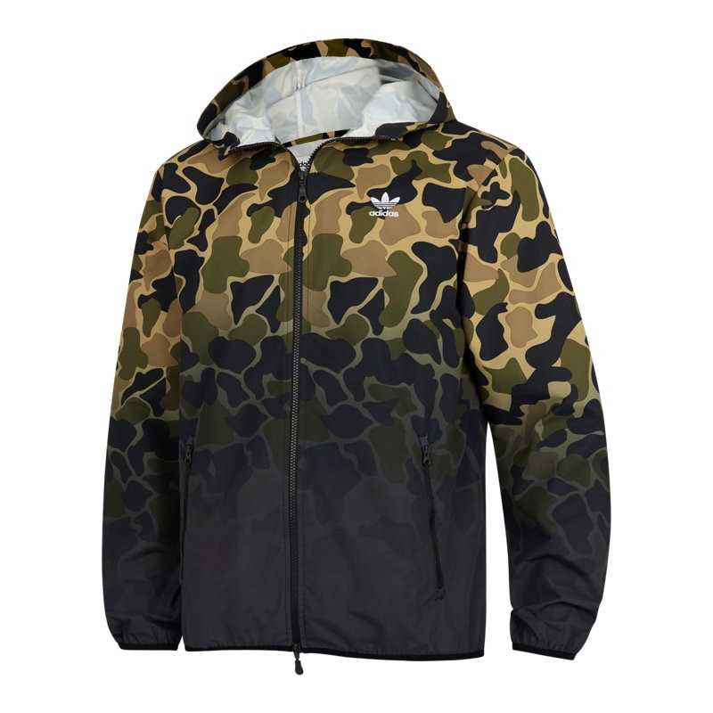 Una buena amiga falda Facturable  adidas Adicolor Camo Jackets Green – Foot Locker – GOOFASH