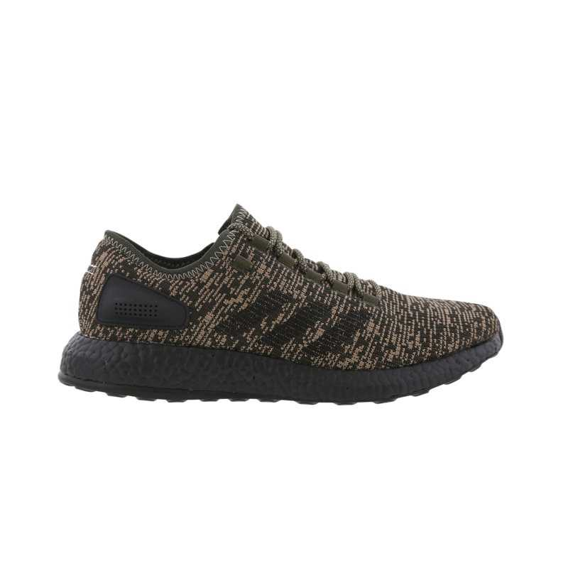 adidas Pure Boost Shoes Green – Foot
