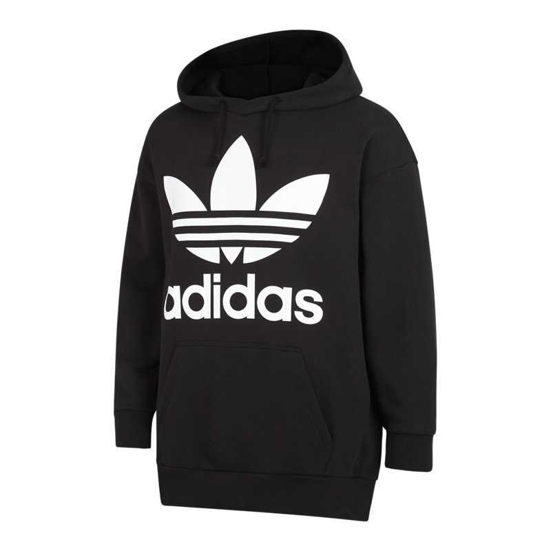 Facilitar cuenco Papá  adidas adicolor Trefoil Oversized Over The Head Hoodies Black – Foot Locker  – GOOFASH