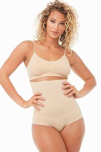 Assets by Spanx Shaping High-Waisted Panty at Forever 21 Nude - GOOFASH