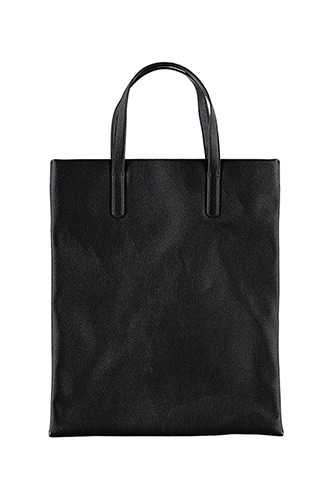 Forever 21 Faux Leather Tote  Black - GOOFASH