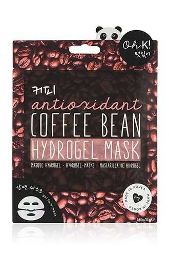 Forever 21 Oh K Coffee Bean Hydrogel Mask  Brown/multi - GOOFASH