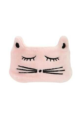Forever 21 Plush Cat Face Headwrap  Pink - GOOFASH