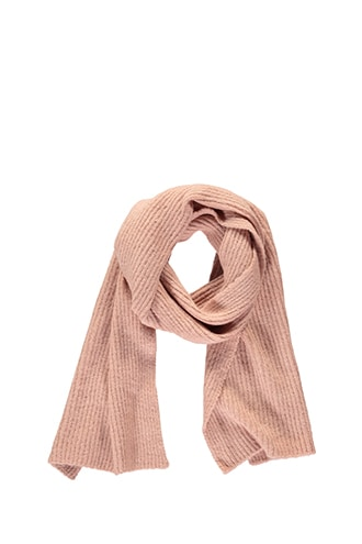 Forever 21 Ribbed Oblong Scarf  Pink - GOOFASH