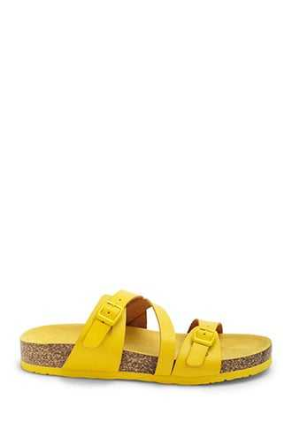 Forever 21 Strappy Espadrille Sandals  Yellow - GOOFASH