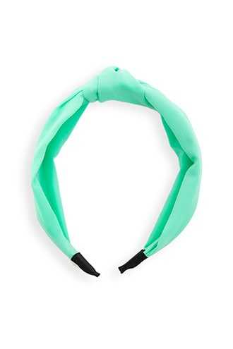 Forever 21 Twisted Neon Headband  Mint - GOOFASH