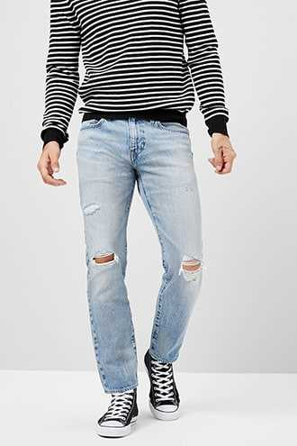 Levis Hi-Ball Roll Jeans at Forever 21 Blue - GOOFASH