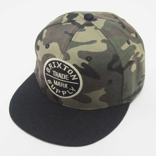 Men Camouflage Patched Snap Cap - Shein - GOOFASH