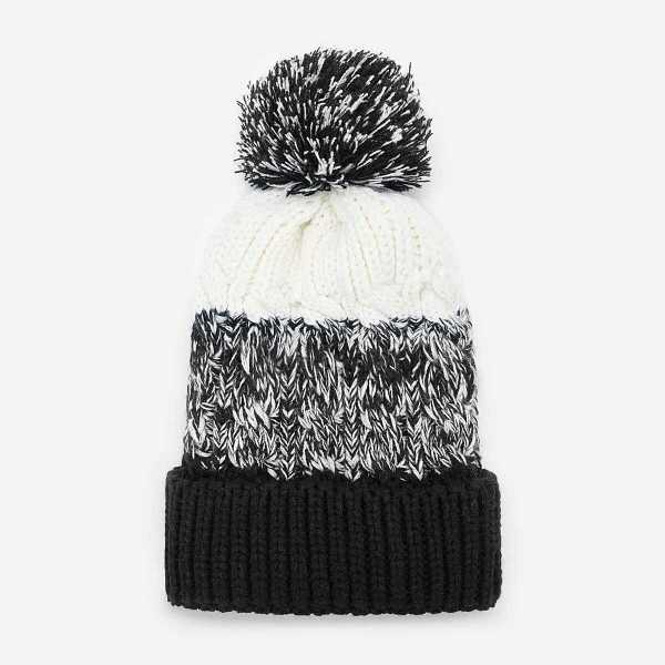 Men Colorblock Beanie Hat - Shein - GOOFASH